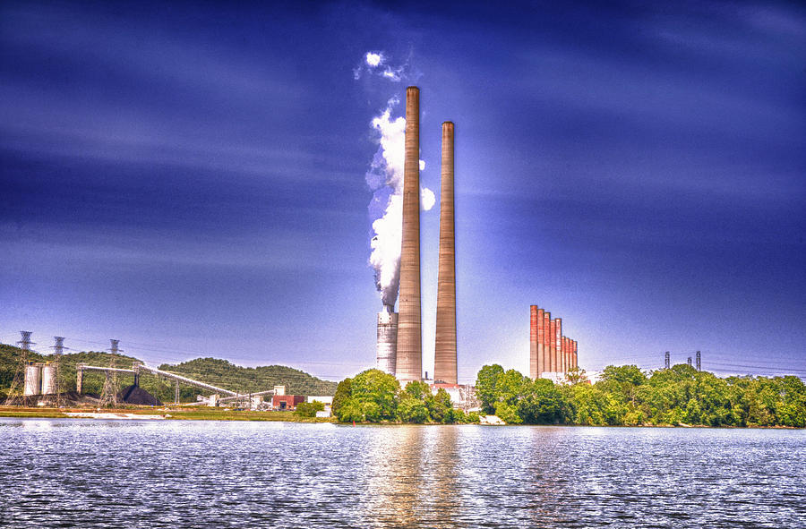 Fossil Fuel Plant Photograph