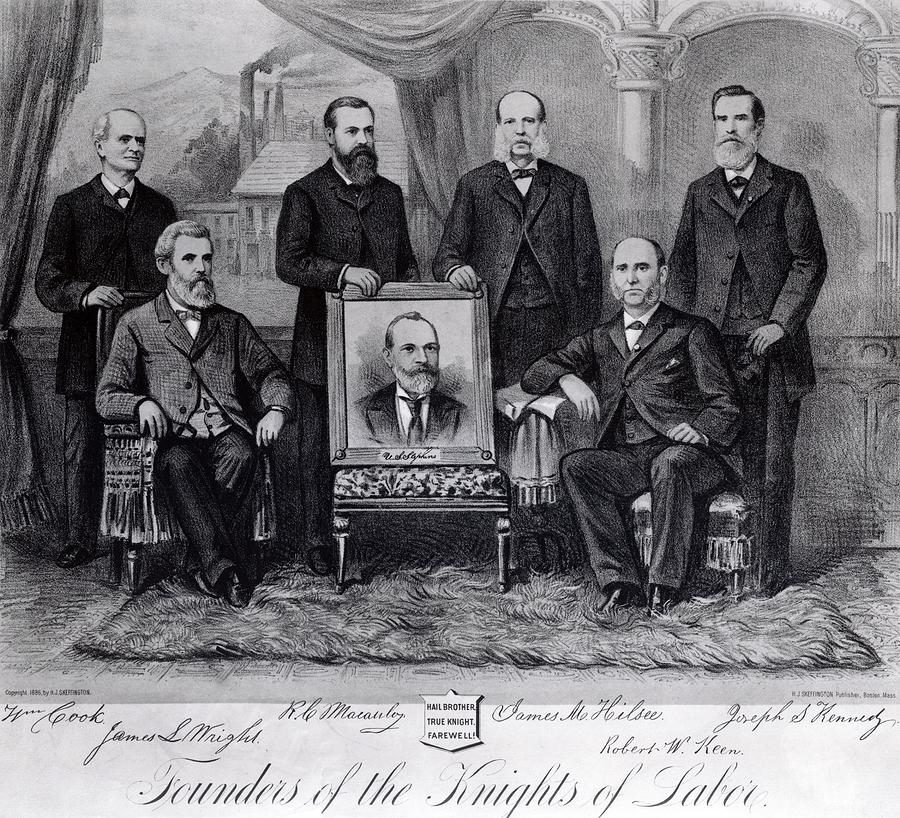 external image founders-of-the-knights-of-labor-everett.jpg