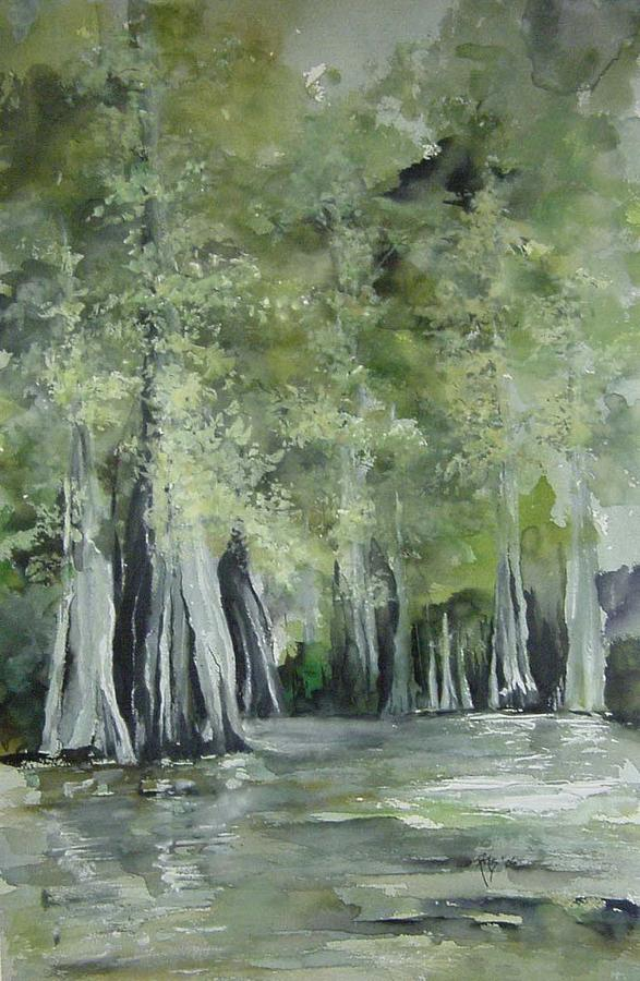 Fourche Creek Study Painting