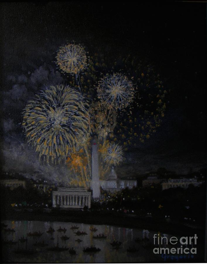 Fourth Of July Painting