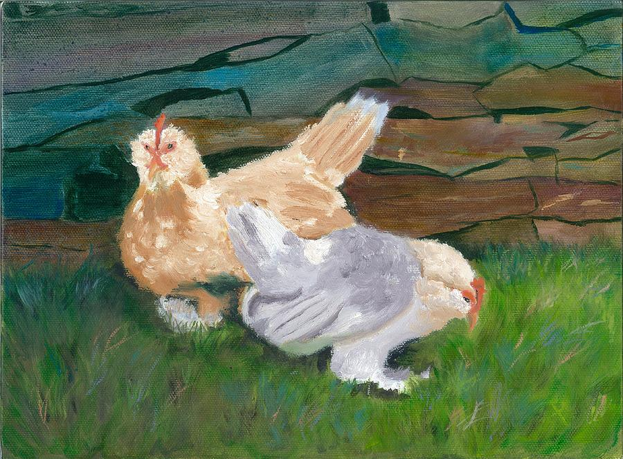 Fowl Play Painting