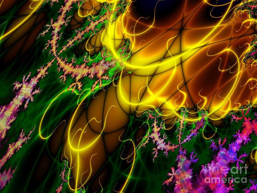 Fractal Fire Digital Art