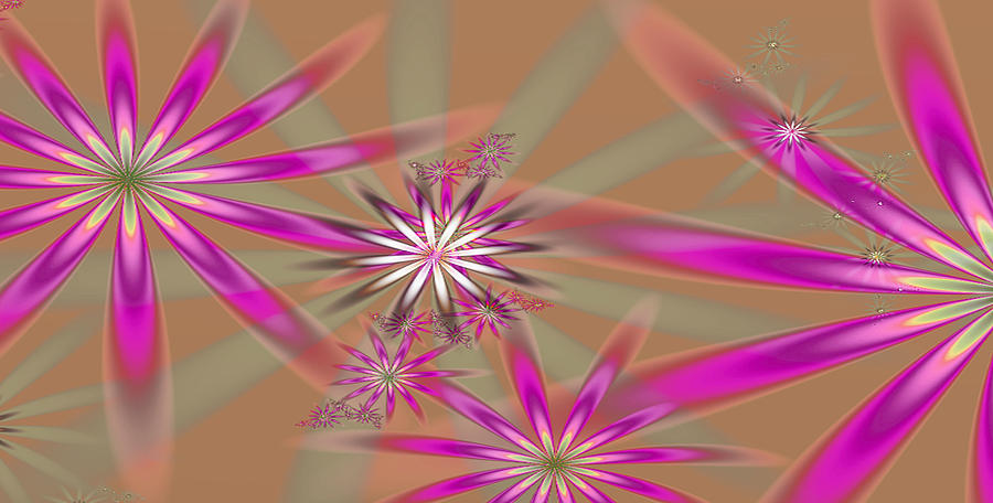 Fractal Flowers Digital Art
