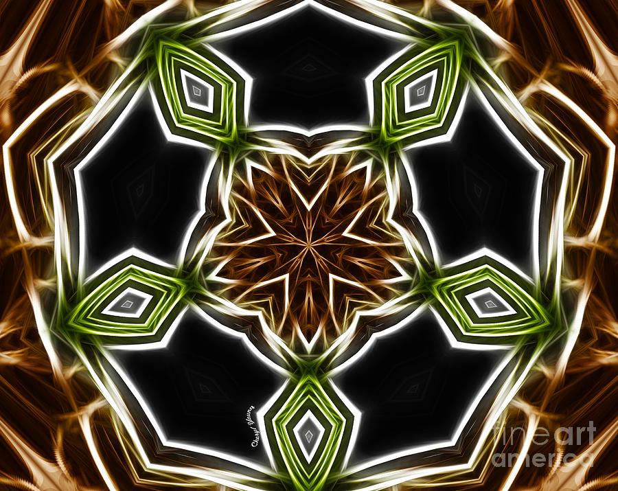 Fractal Kaleidoscope Photograph