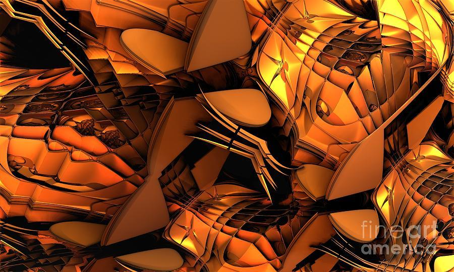 Fractal Art Digital Art - Fractal - Orchestra by Bernard MICHEL