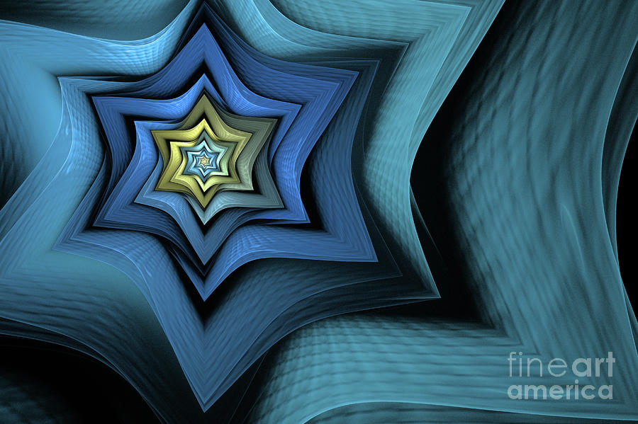 Fractal Star Digital Art