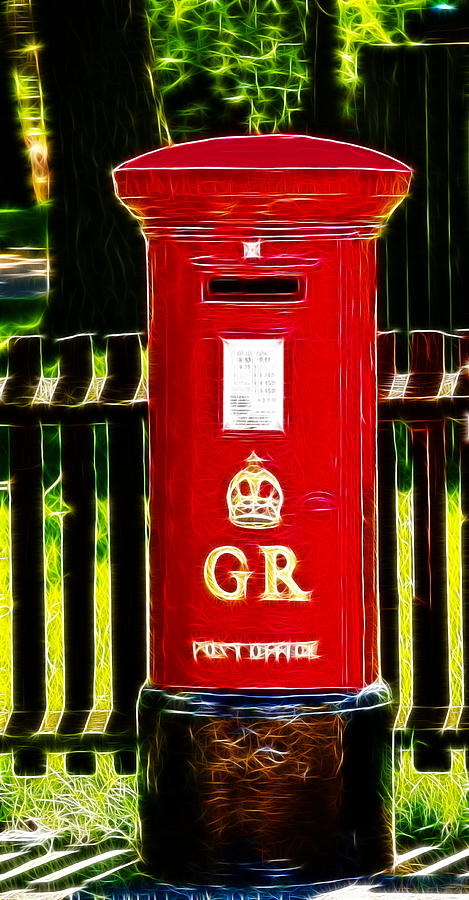Fractalius Pillar Box Photograph
