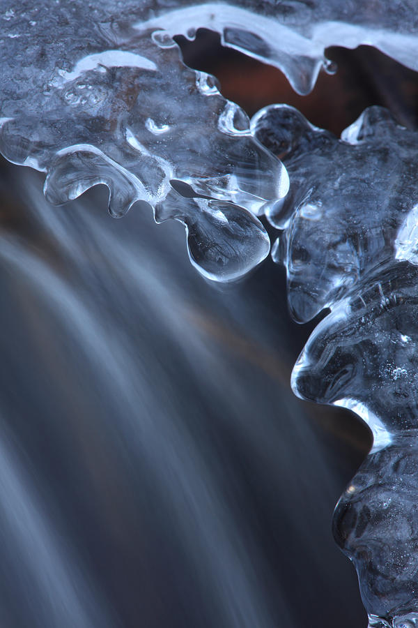 Fragile Ice Formation Photograph