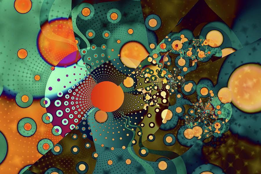 Fragmentation Digital Art
