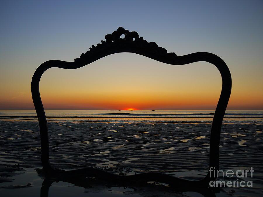 Framed Sunrise Photograph