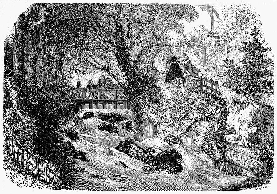 France: Divonne, 1856 Photograph