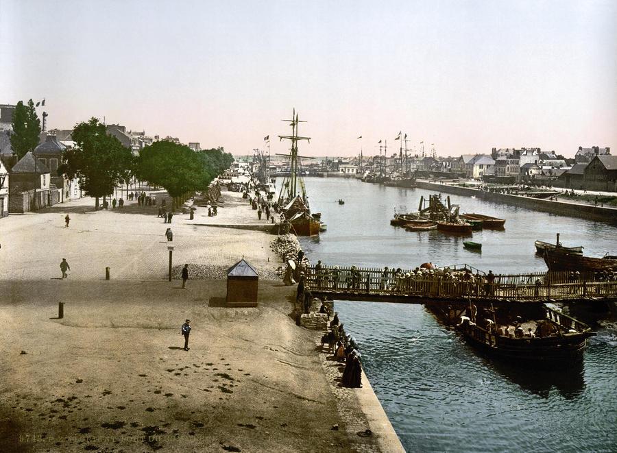 Lorient France  city photo : France: Lorient, C1895 by Granger