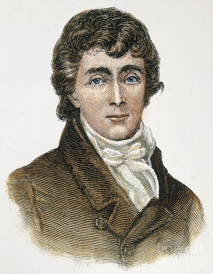 Francis Scott Key (1779-1843) Photograph  - Francis Scott Key (1779-1843) Fine Art Print