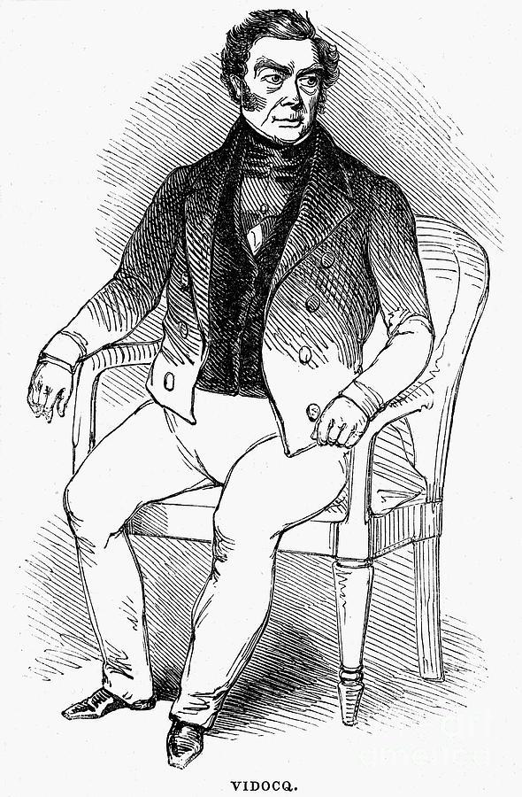 Francois Vidocq (1775-1857) Photograph