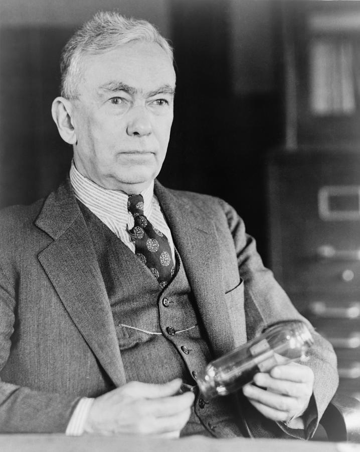 History Photograph - Frank Conrad 1874-1941, Radio Pioneer by Everett