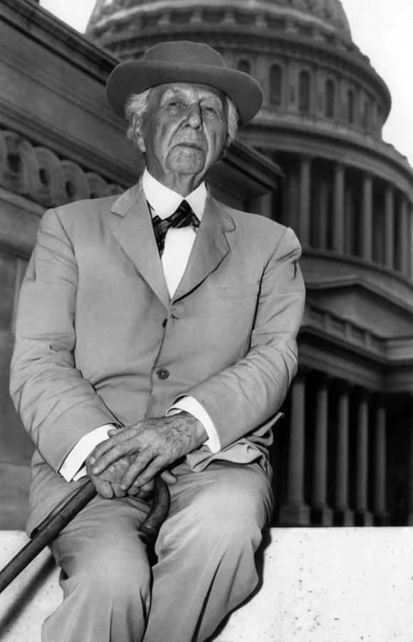 Frank Lloyd Wright 1867-1959, Prominent Photograph  - Frank Lloyd Wright 1867-1959, Prominent Fine Art Print