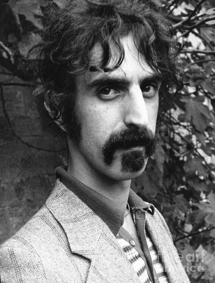Frank Zappa 1970 Photograph