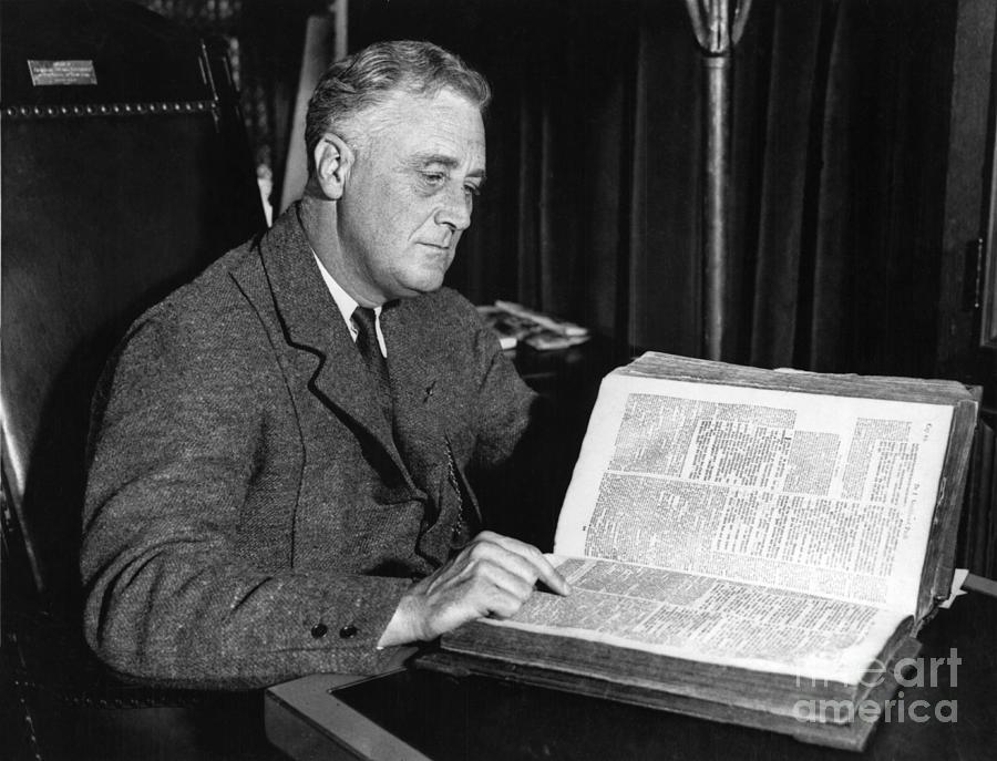 Franklin D. Roosevelt, 32nd American Photograph
