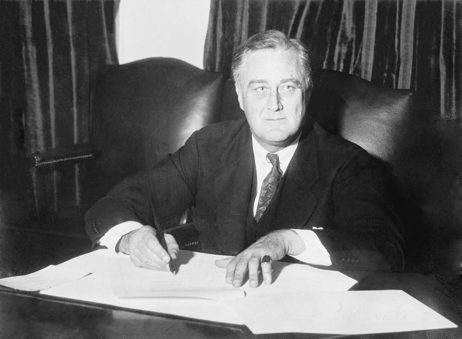 Franklin D. Roosevelt Ended Prohibition Photograph
