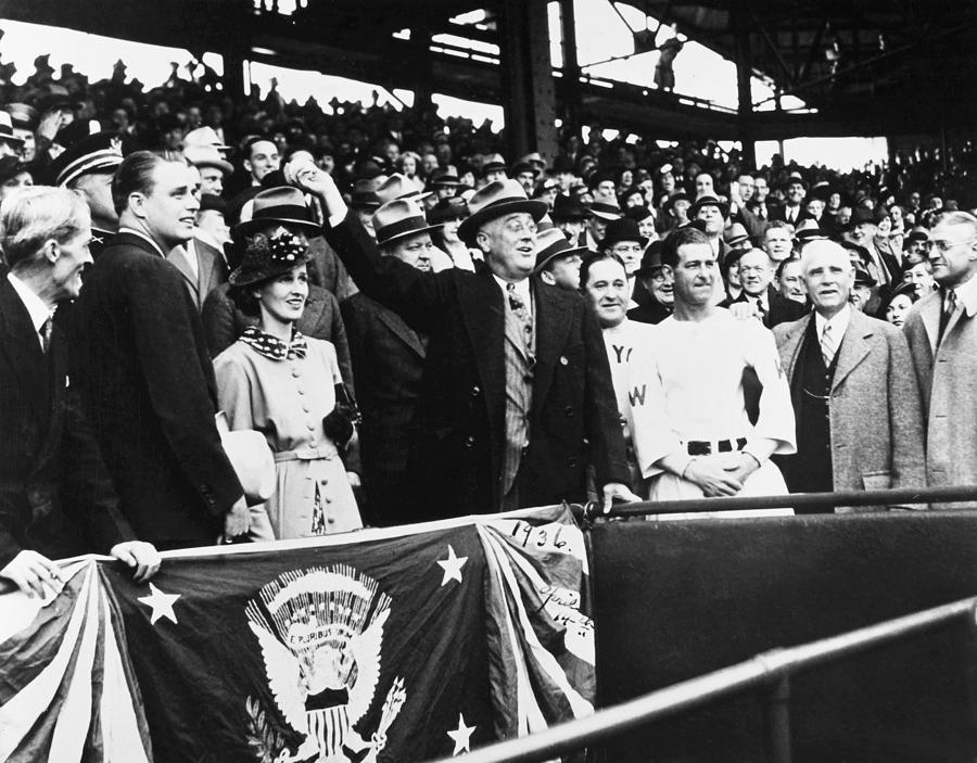 Franklin D. Roosevelt Photograph
