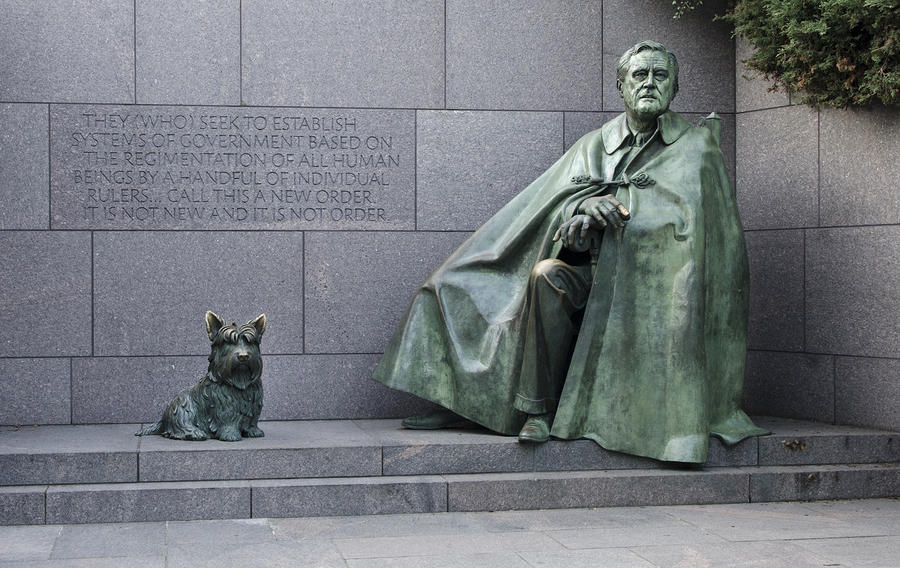Franklin Delano Roosevelt Memorial - Washington Dc Photograph