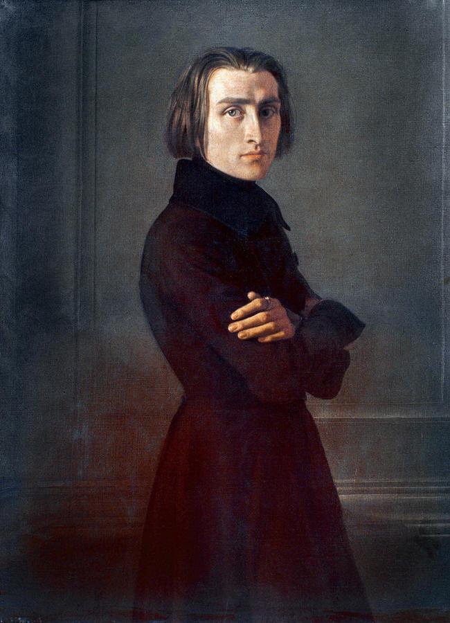 Franz Liszt (1811-1886) Photograph