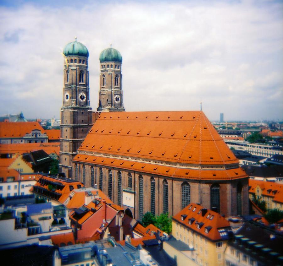 Frauenkirche Munich  Photograph