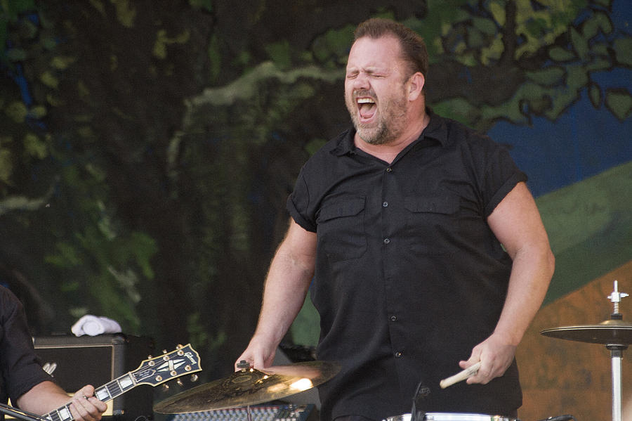 Fred Leblanc Of Cowboy Mouth Photograph  - Fred Leblanc Of Cowboy Mouth Fine Art Print