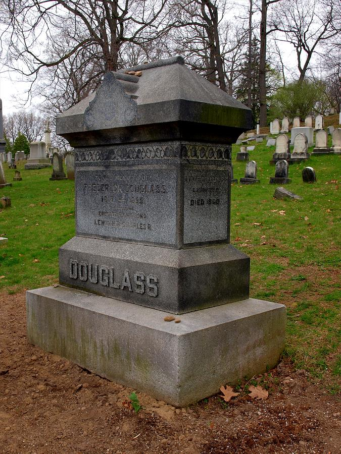 Frederick Douglass Grave Two Photograph