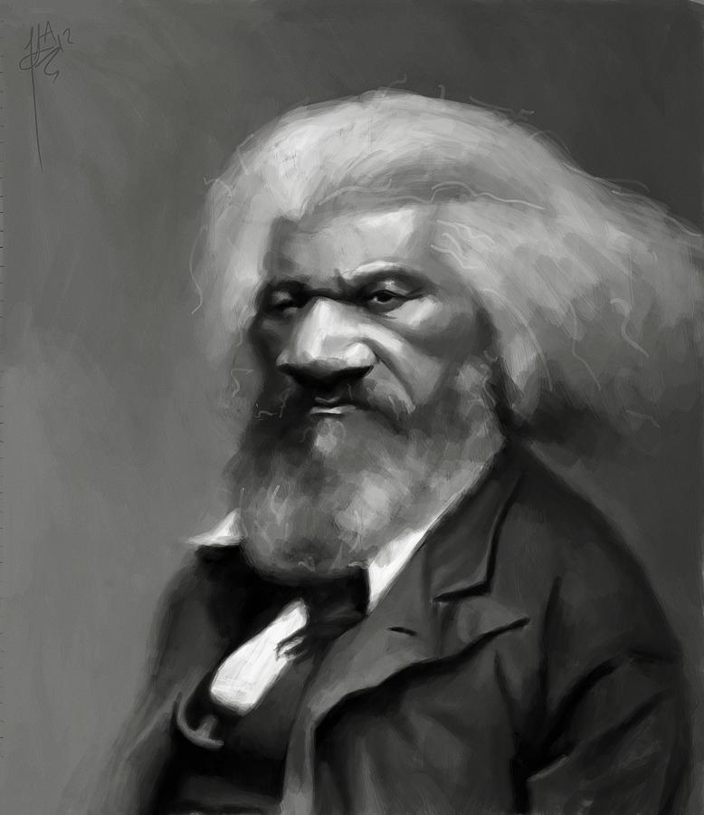 Frederick Douglass Painting