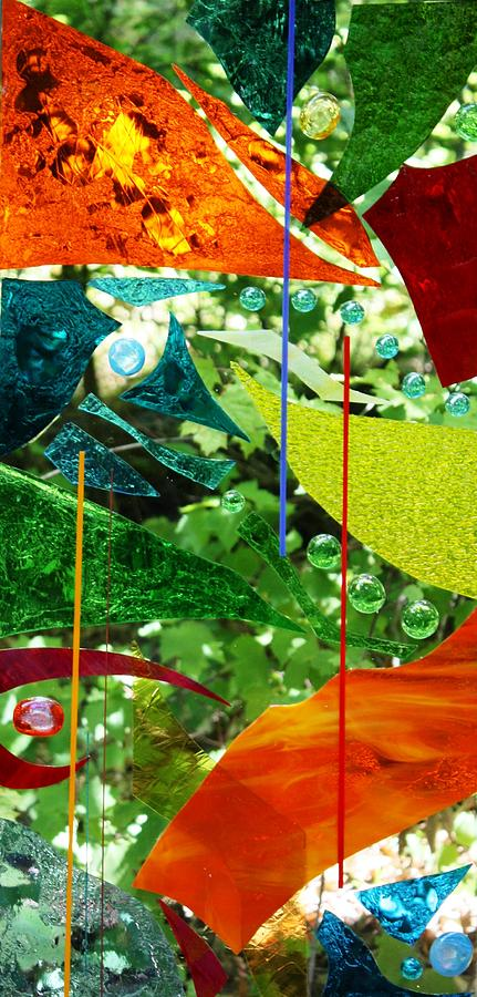 Free Fall Glass Art