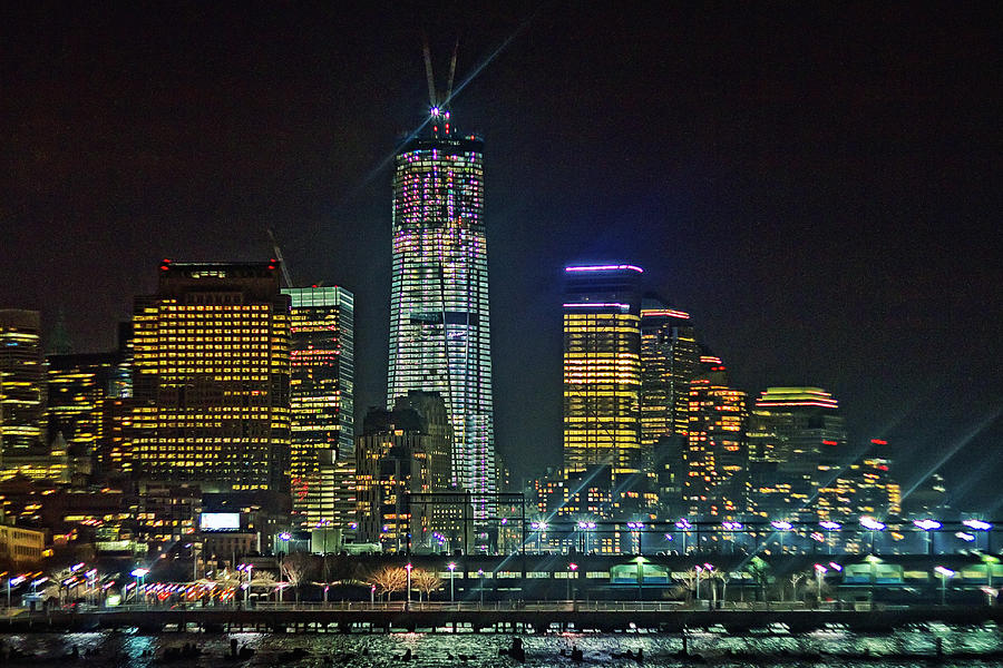 Freedom Tower Half Way Build Photograph  - Freedom Tower Half Way Build Fine Art Print