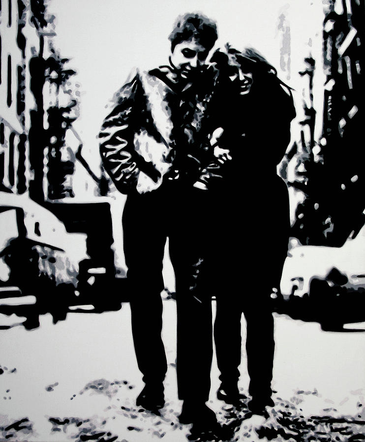 Freewheelin Painting