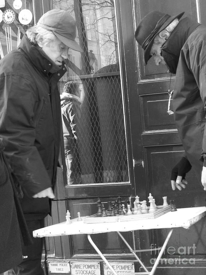 French Checkmate Photograph