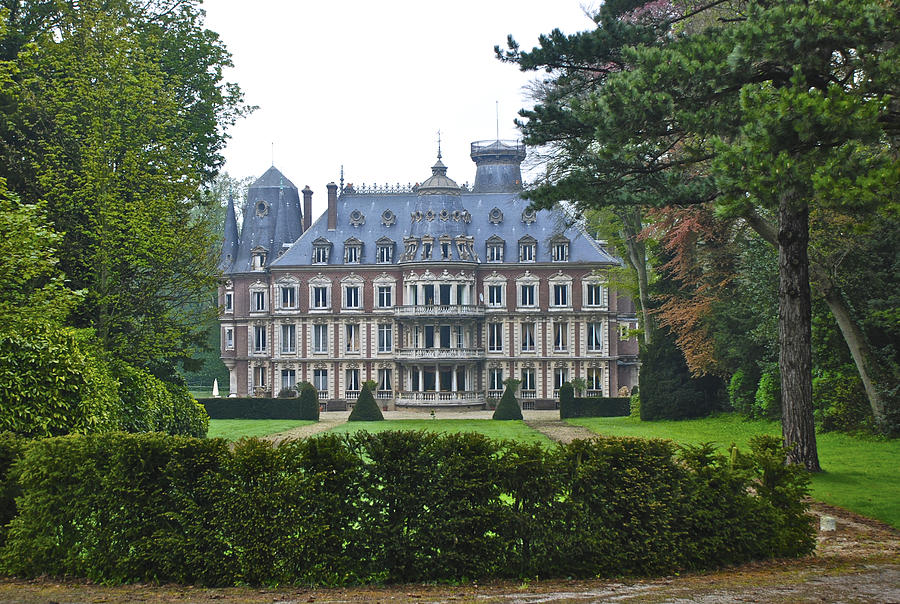 French country mansion photograph by eric tressler for Country mansion for sale