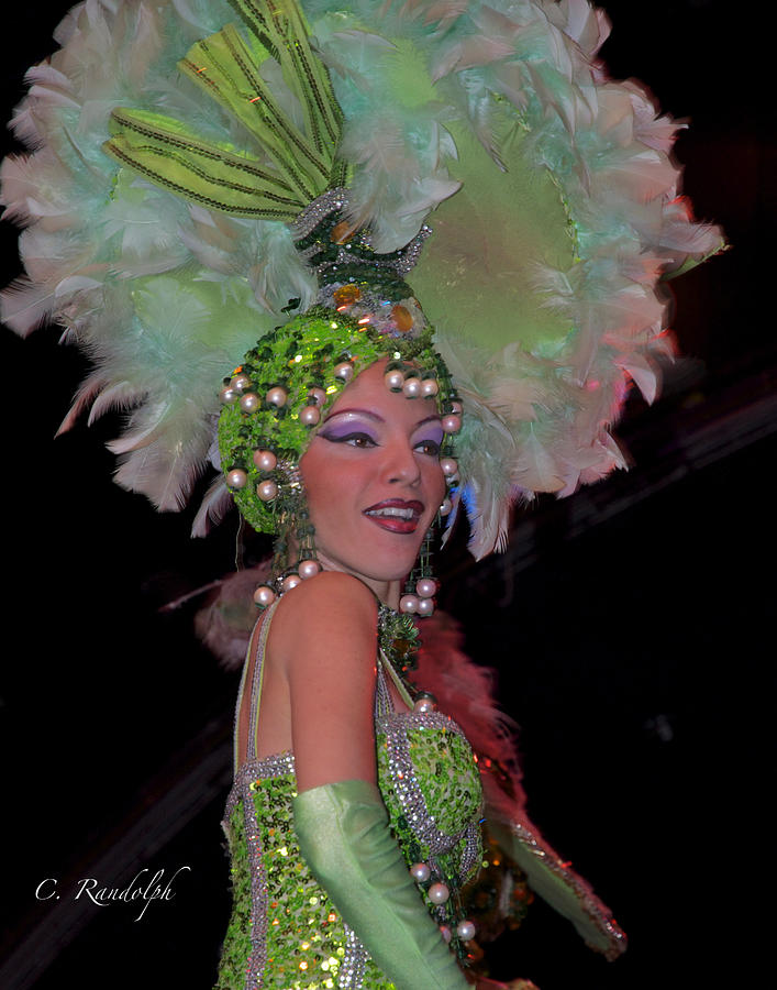 Tropicana Nightclub Photograph - French Feathers by Cheri Randolph