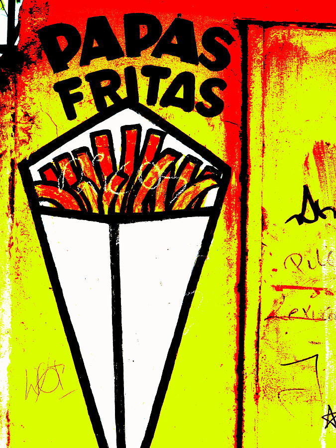 French Fries Santiago Style  Photograph
