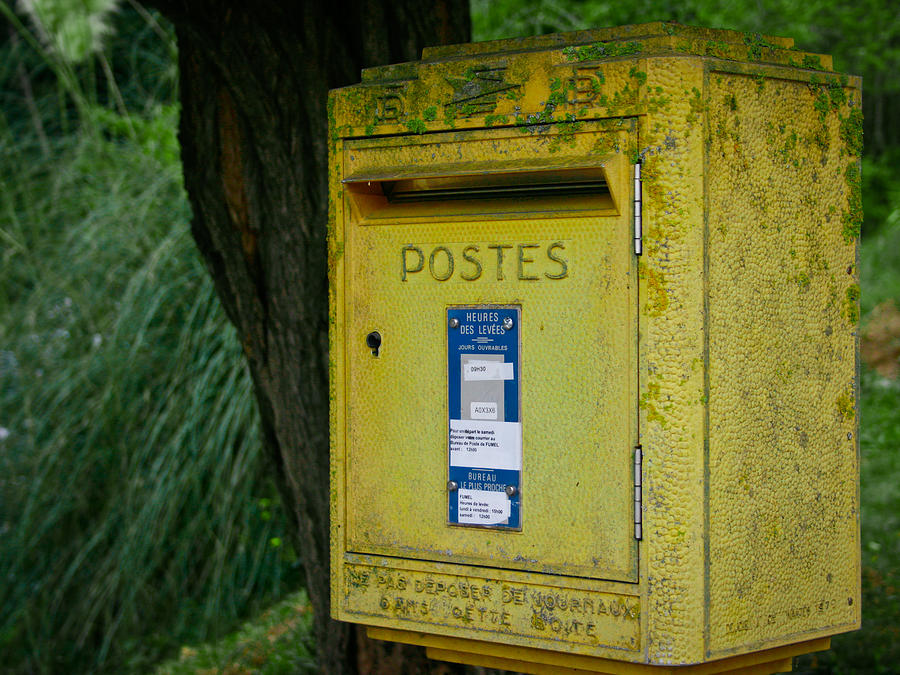 French Mailbox Photograph