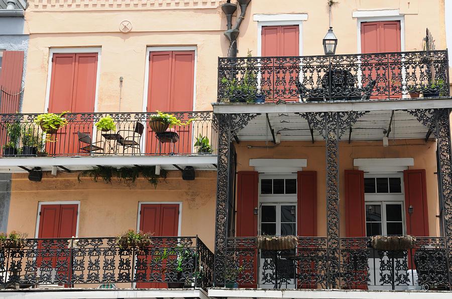 French quarter balconies photograph by bradford martin for French quarter balcony