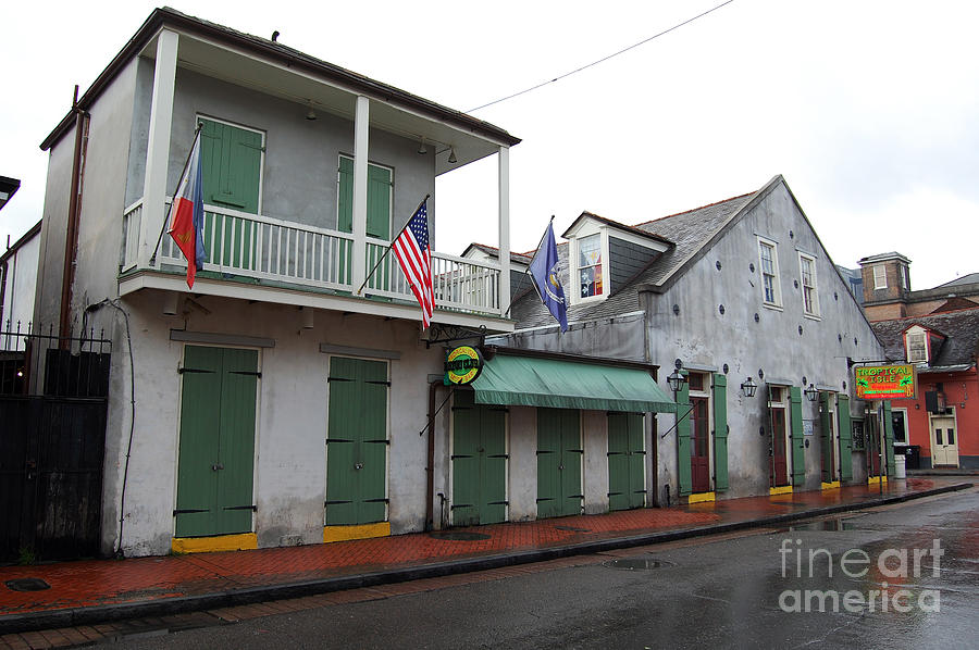 French Quarter Tavern Architecture New Orleans Photograph By Shawn O 39 Brien