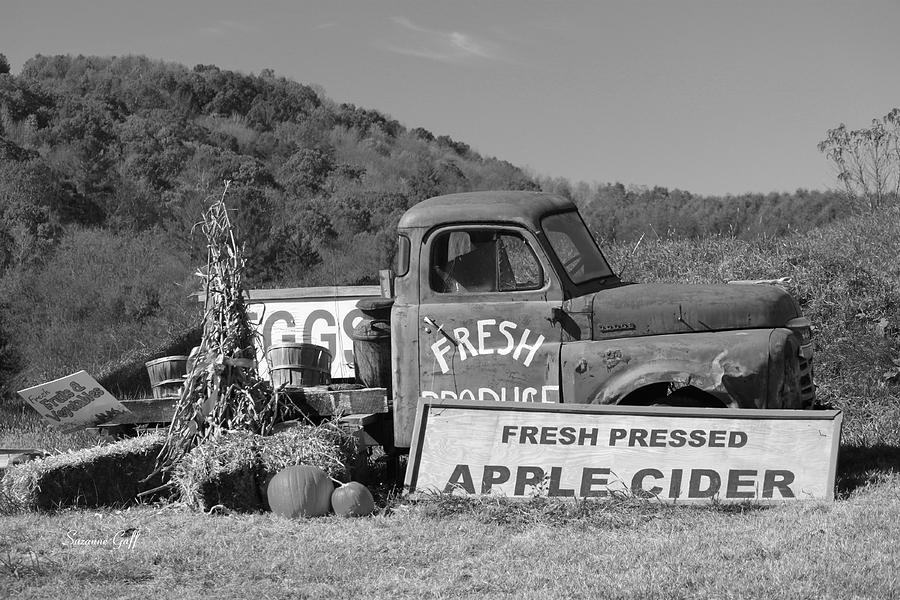 Fresh -- Black And White Photograph