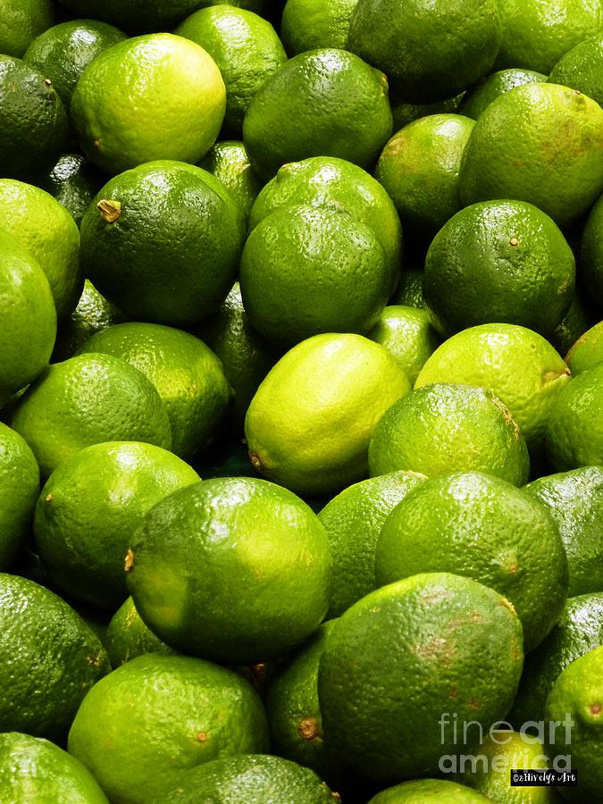 Fresh Limes Photograph