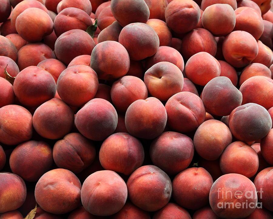 Fresh Peaches - 5d17816 Photograph