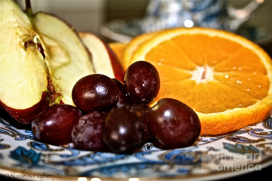 Food Photograph - Fresh Start by Susan Herber