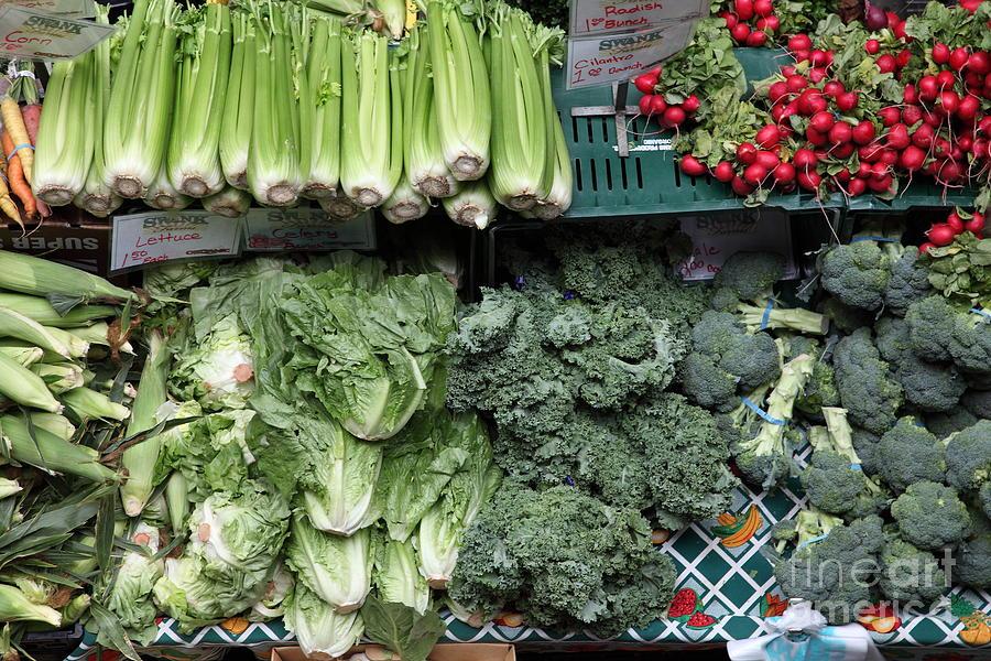 Fresh Vegetables - 5d17911 Photograph