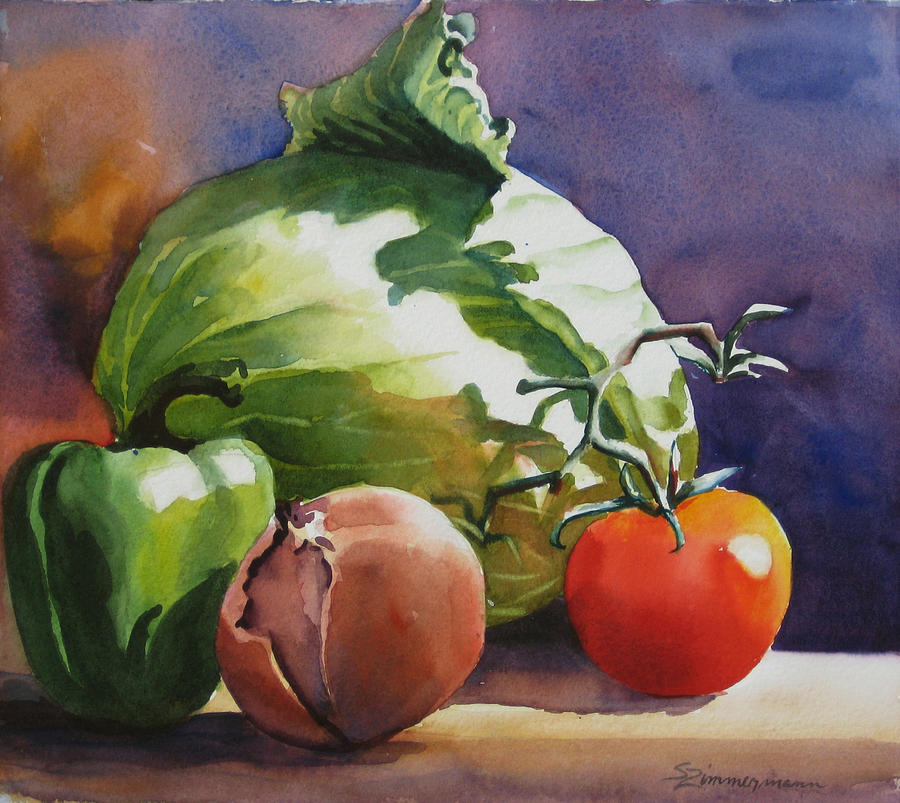 Vegetable Paintings By Famous Artists