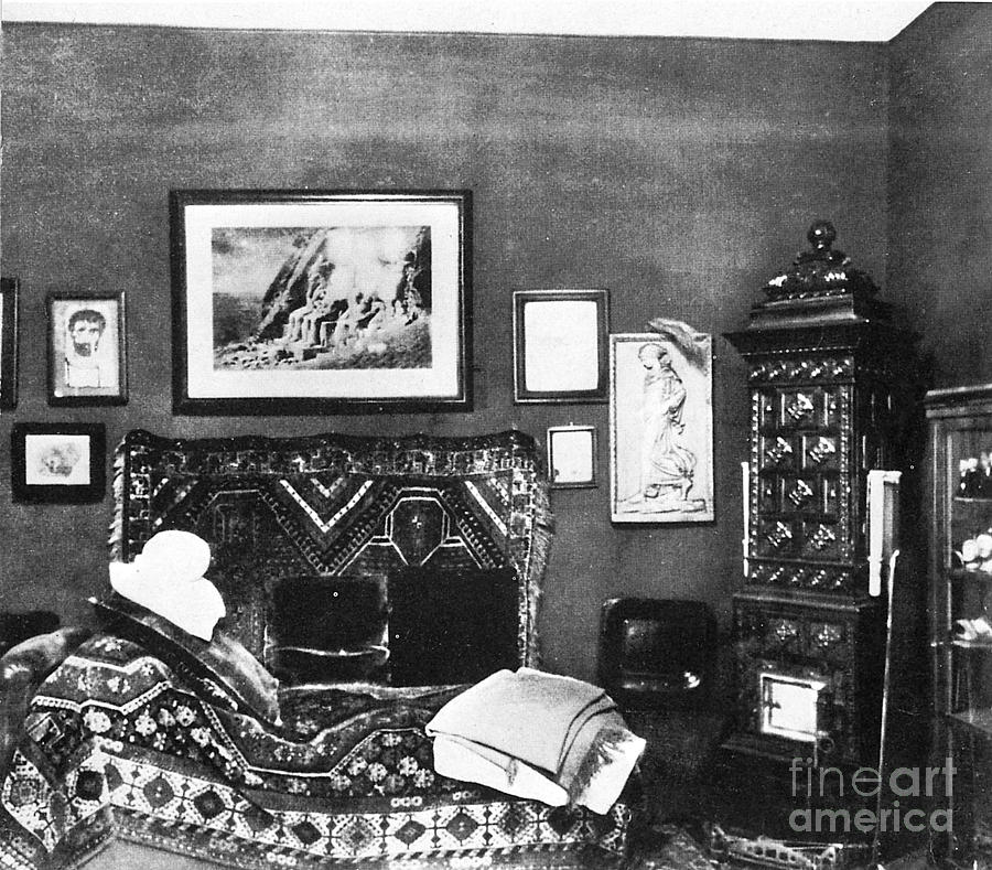 Freuds Consulting Room Photograph  - Freuds Consulting Room Fine Art Print