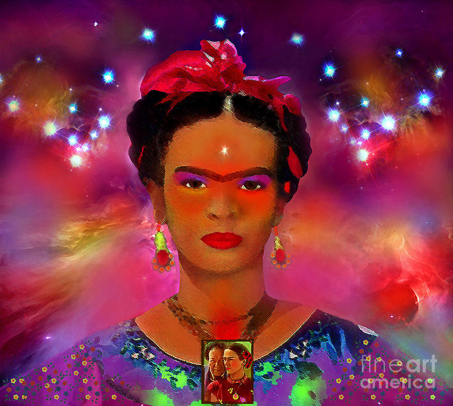 Frida In The Sky With Diamonds Painting