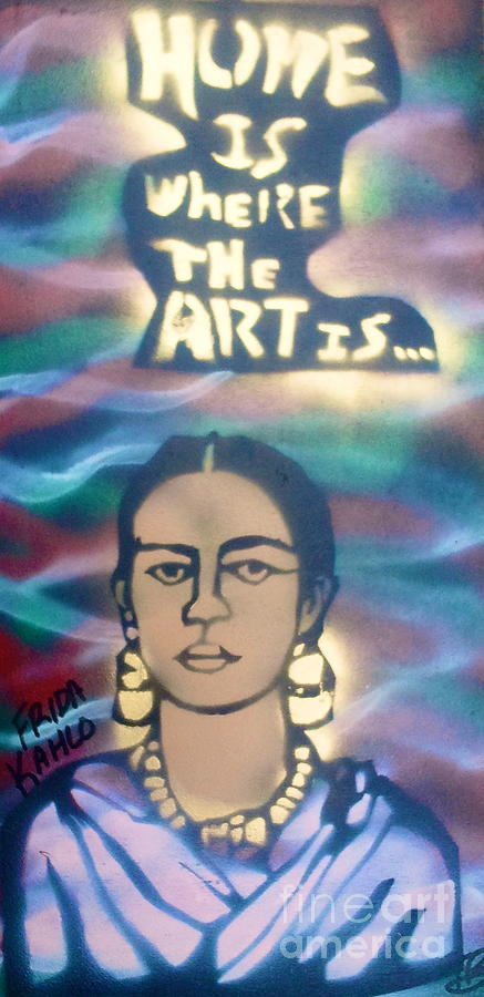Oppression Painting - Frida Kahlo by Tony B Conscious