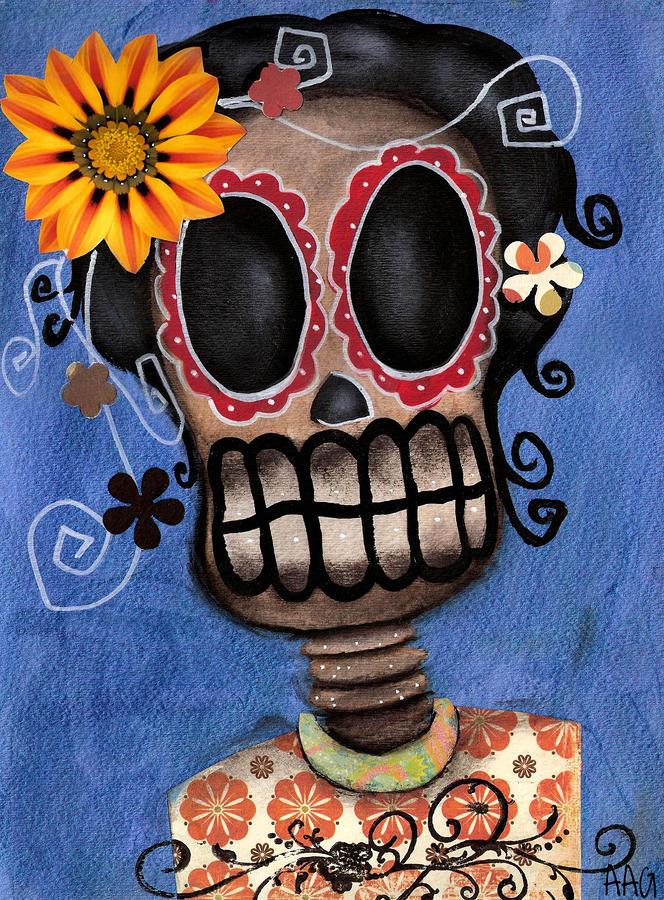 Frida Muerta Painting
